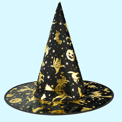 Ericdress Halloween Witch Party Magic Skull Hat