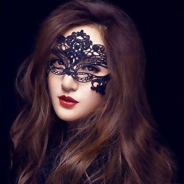 Ericdress Sexy Lace Halloween Lady Mask