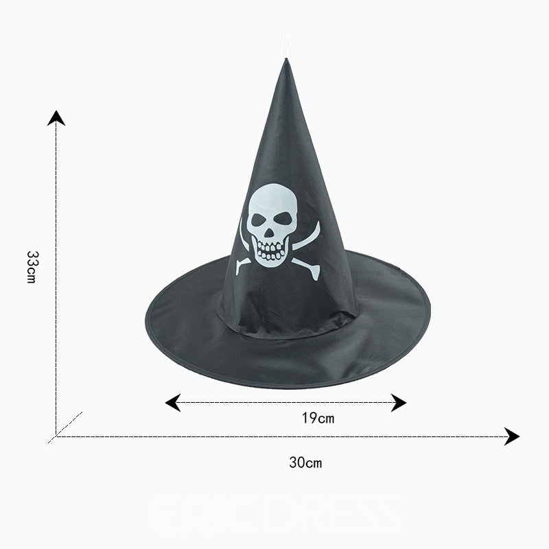 Ericdress Halloween Witch Party Magic Ghost Hat