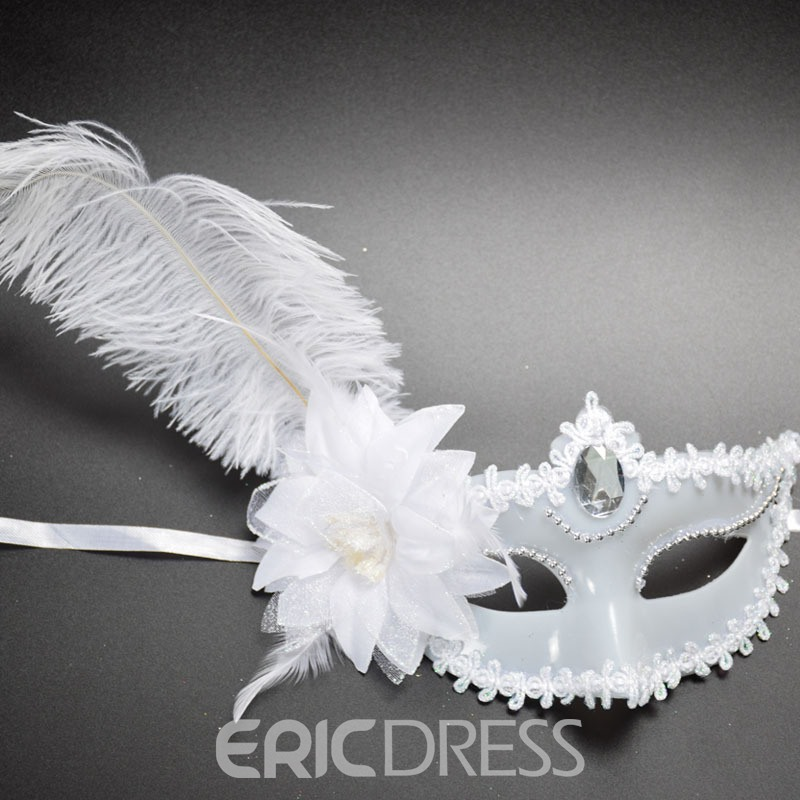 Ericdress Halloween Party Feather Mask