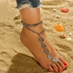 Ericdress Carving Alloy Anklet