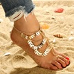 Ericdress Leafage Alloy Anklet