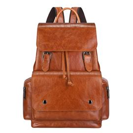 Ericdress Plain Belt Decorated Mdeium Backpack