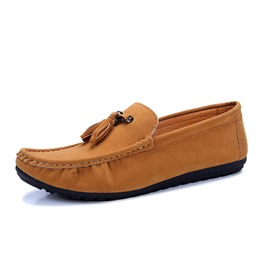 Ericdress Plain Thread Slip-On Men's Loafers