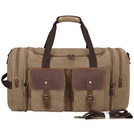 Ericdress Canvas Plain Travel Tote Bag