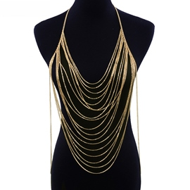 Ericdress Bikini Body Chain Necklace