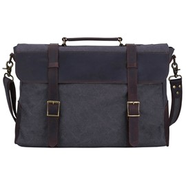 Ericdress Plain Belt Decorated Soft Men's Bag