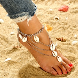 Ericdress Beach Conch Anklet