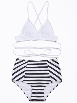 Ericdress Zebra Stripe Simple Fashion Bikini
