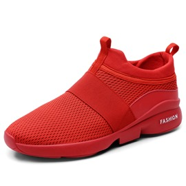 Ericdress Mesh Plain Patchwork Slip-On Men's Sneakers