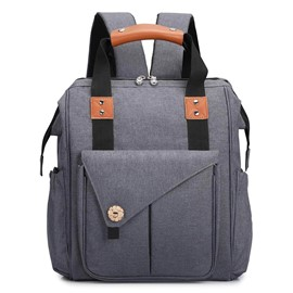 Ericdress Canvas Plain Mother's Backpack