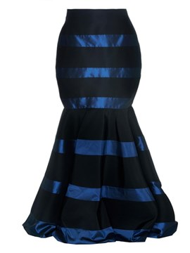Ericdress Bodycon Floor-Length Stripe Women's Skirt