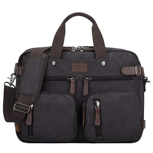 Ericdress Canvas Men's Shoulder Bag Multipurpose Backpack