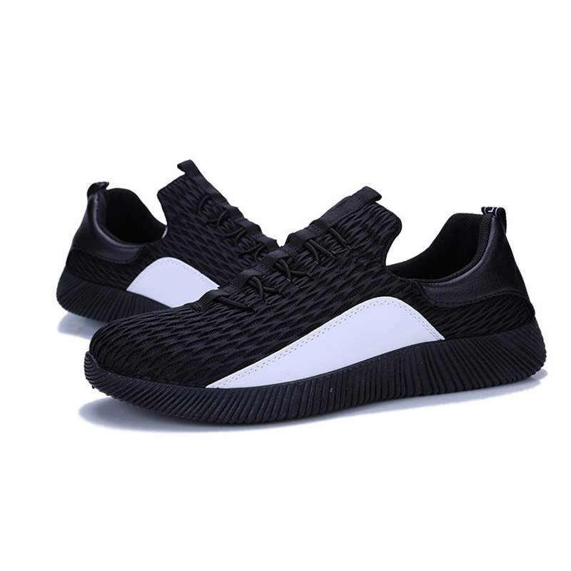 Ericdress Mesh Patchwork Lace-Up Men's Trainers