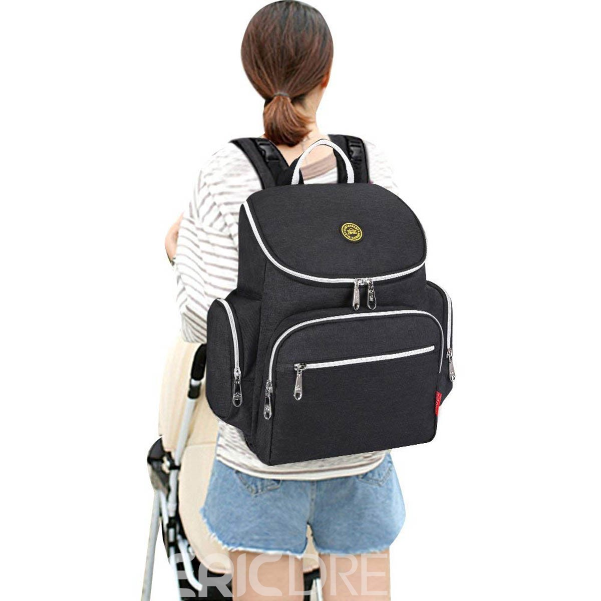 Ericdress Canvas Palin Mother's Backpack