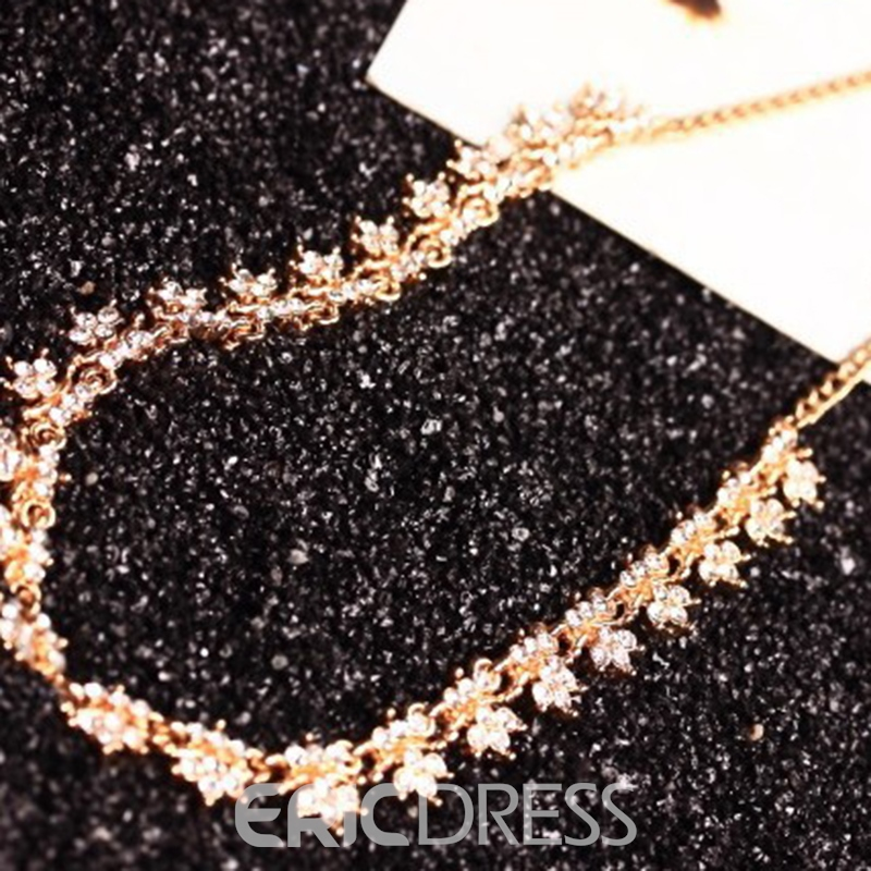 Ericdress Rhinestone Shining Necklace