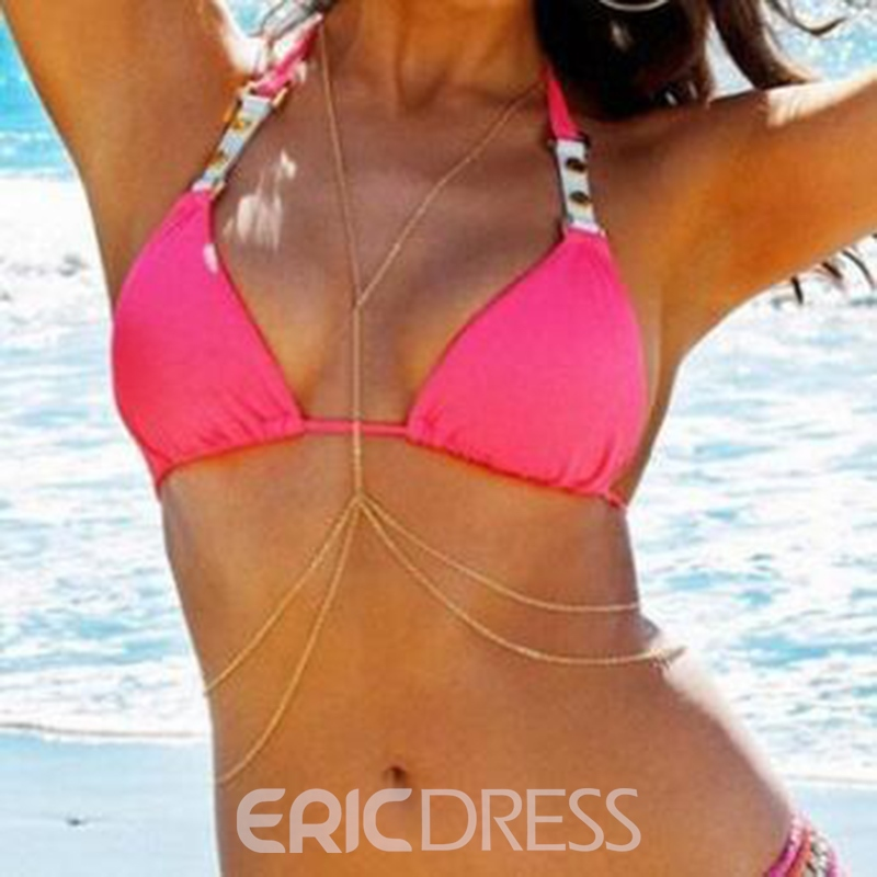 Ericdress Beach Holiday Body Chain Necklace