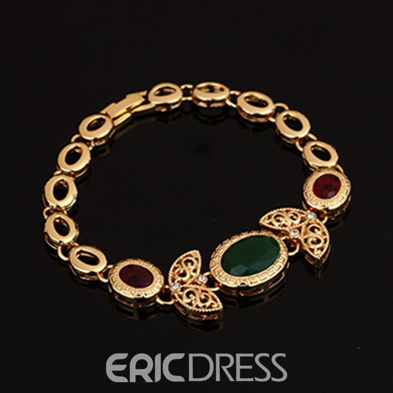 Ericdress Vintage Oval Stone Jewelry Set