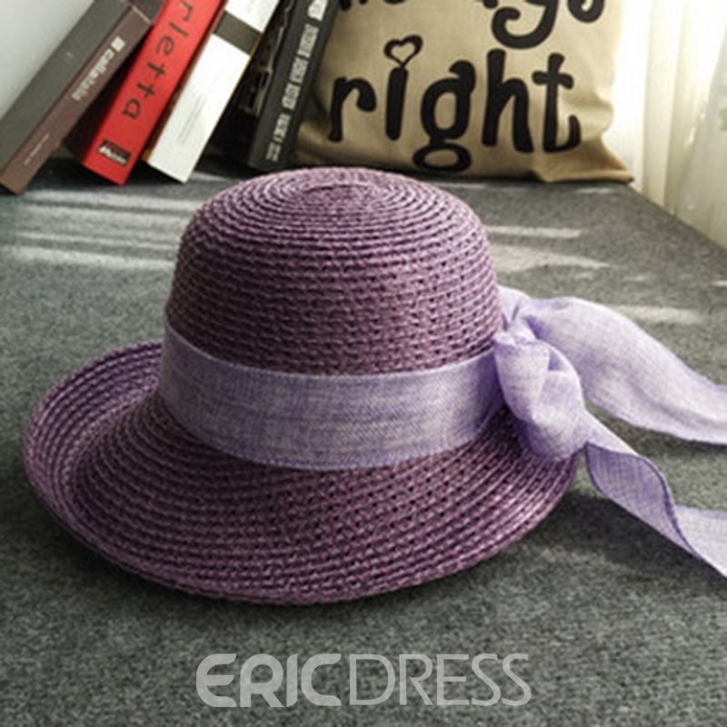 Ericdress Straw Summer Lady Sunhat