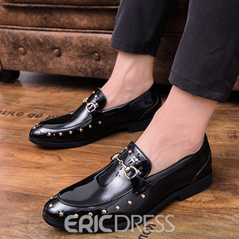 remache ericdress slip-on oxfords de los hombres profesionales