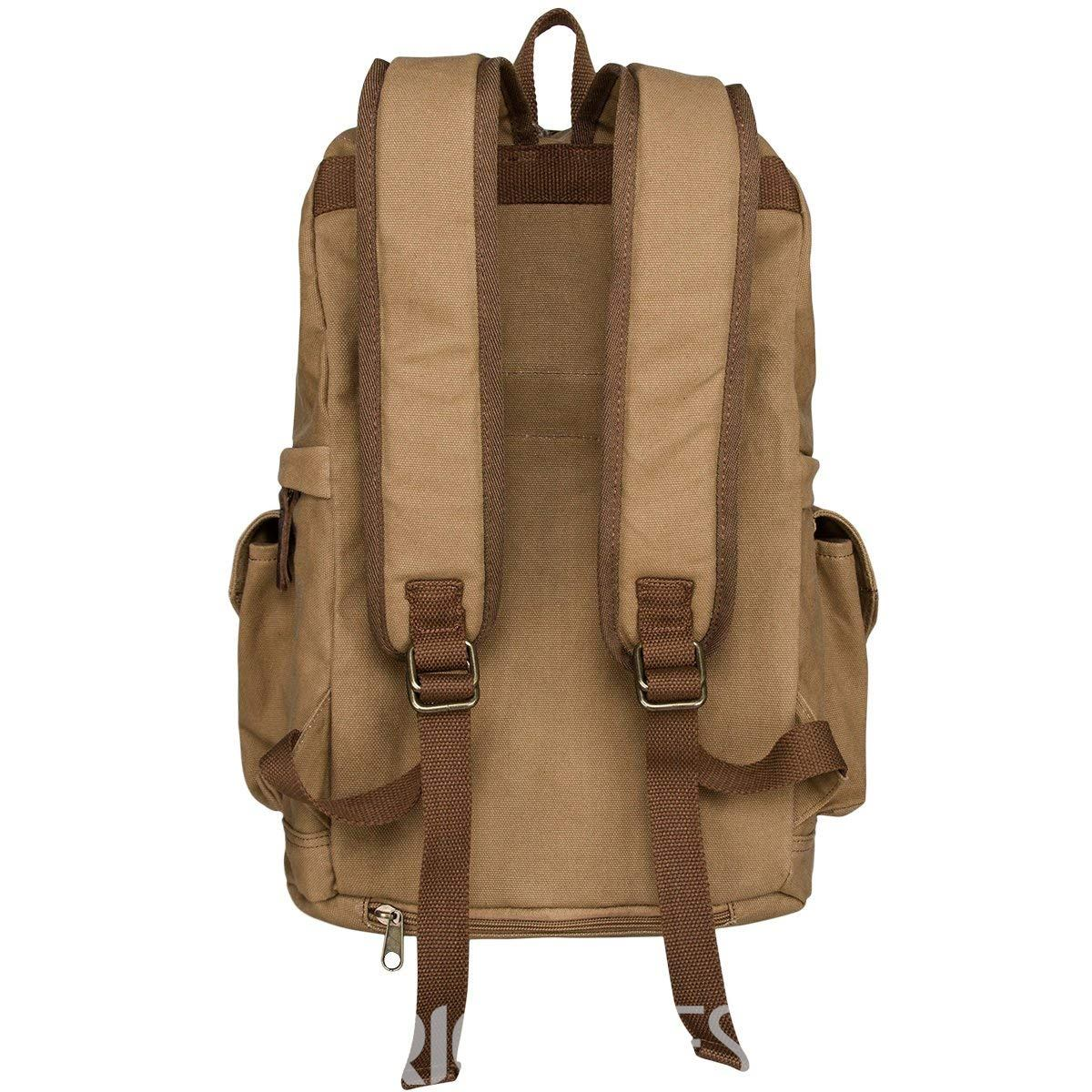 Ericdress Plain Canvas SLR Camera Backpack