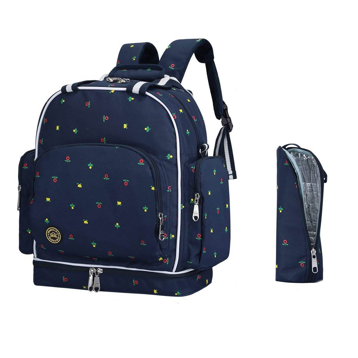 Ericdress Canvas Polka Dots Wear Resisting Backpack