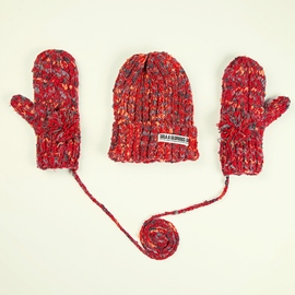 Ericdress Winter Warm Women Knitted Hat&Gloves