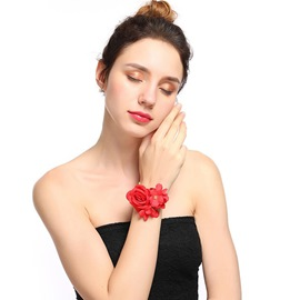 Ericdress Halloween Rose Flower Hair Ties