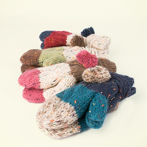 Ericdress Colorful Knitted Gloves