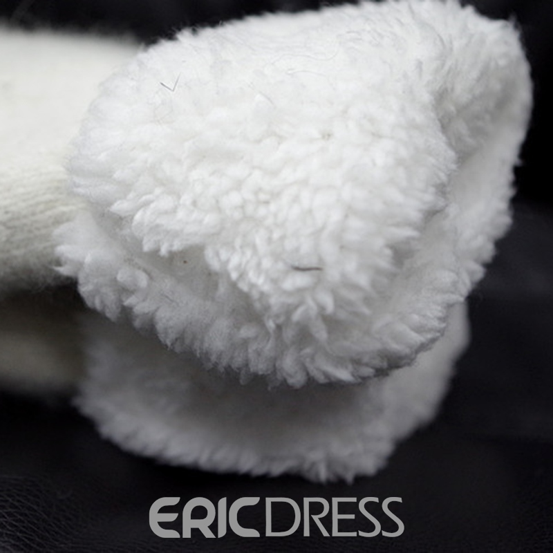 Ericdress Camellia Pure White Women's Gloves