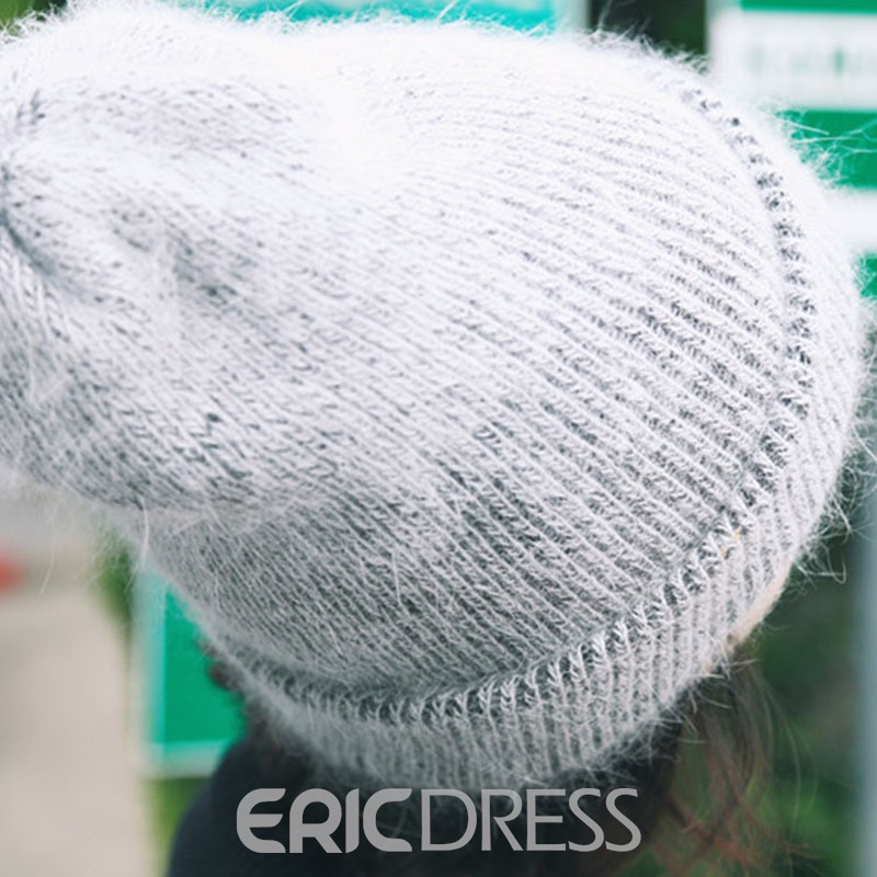 Ericdress Cony Hair Warm Hat