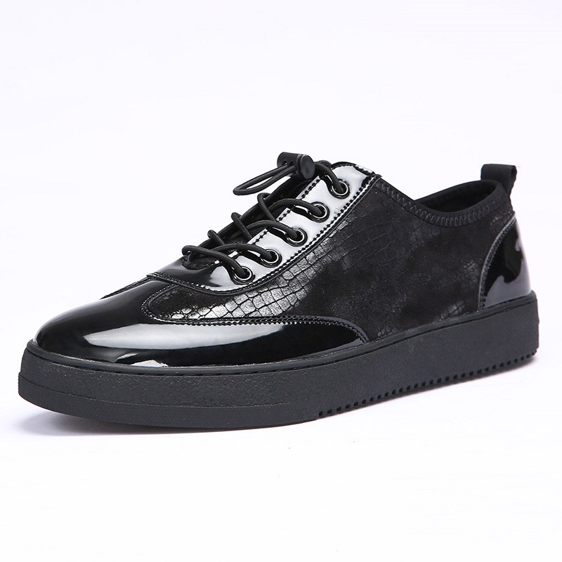 Ericdress Alligator Pattern Elastic Band Men's Shoes