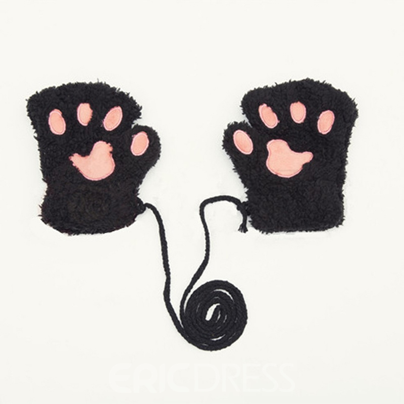 Ericdress Bear Cutie Women's Gloves