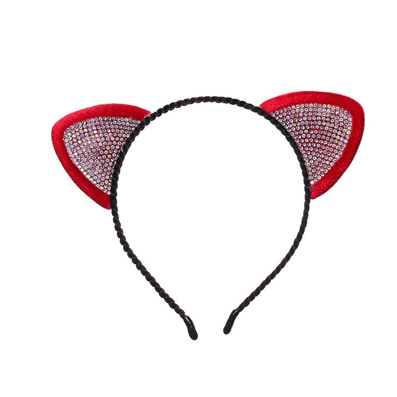 Ericdress Rhinestone Cat Ears Hair Accessories
