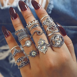 Ericdress Bohemian Style Alloy Rings