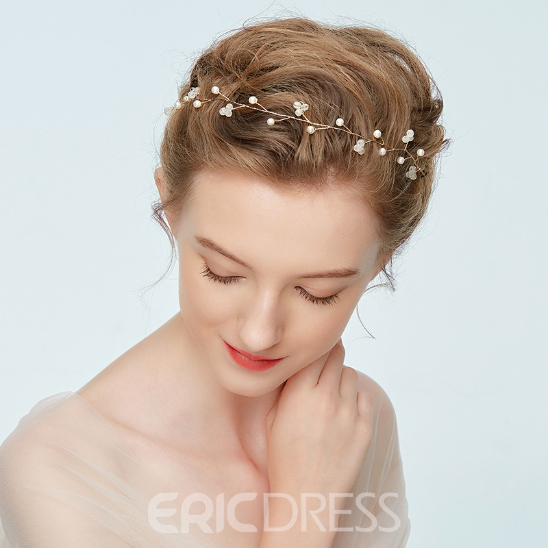 Ericdress Wedding Bride Pearl Princess Hair Accessories