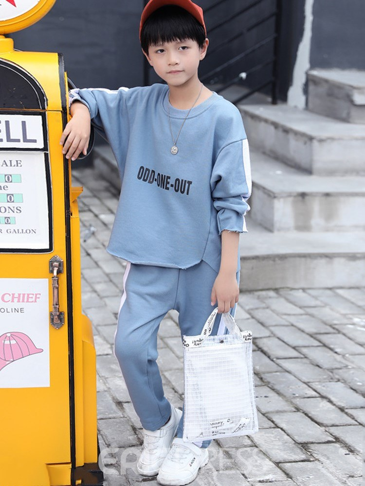 fe8d109ce Ericdress Pullover Letter casual Boys Outfits 13454184 - Ericdress.com