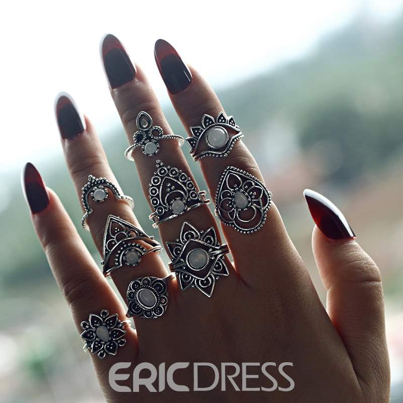 Ericdress Lotus Alloy Rings