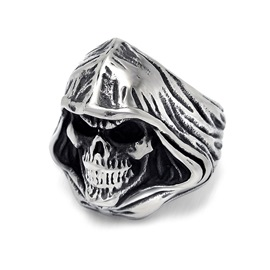 Ericdress Skull Alloy Men Ring