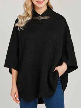 Ericdress Plain Pullover Casual Mid-Length Knitwear