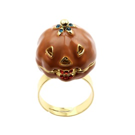 Ericdress Pumpkin Gift Ring