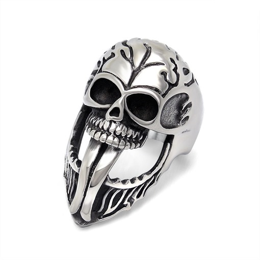 Ericdress Alloy Skull Ring For Men