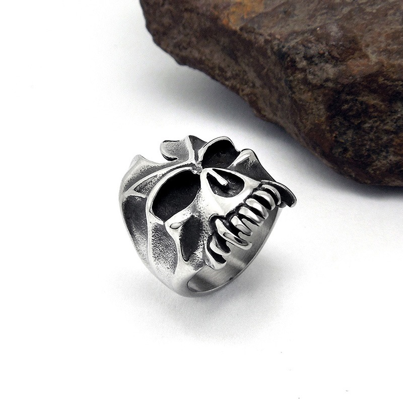 Ericdress Skull Ring For Men