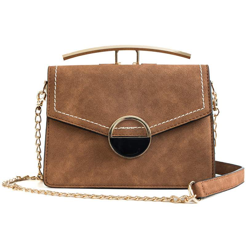 Ericdress Chain PU Plain Envelope Crossbody Bags