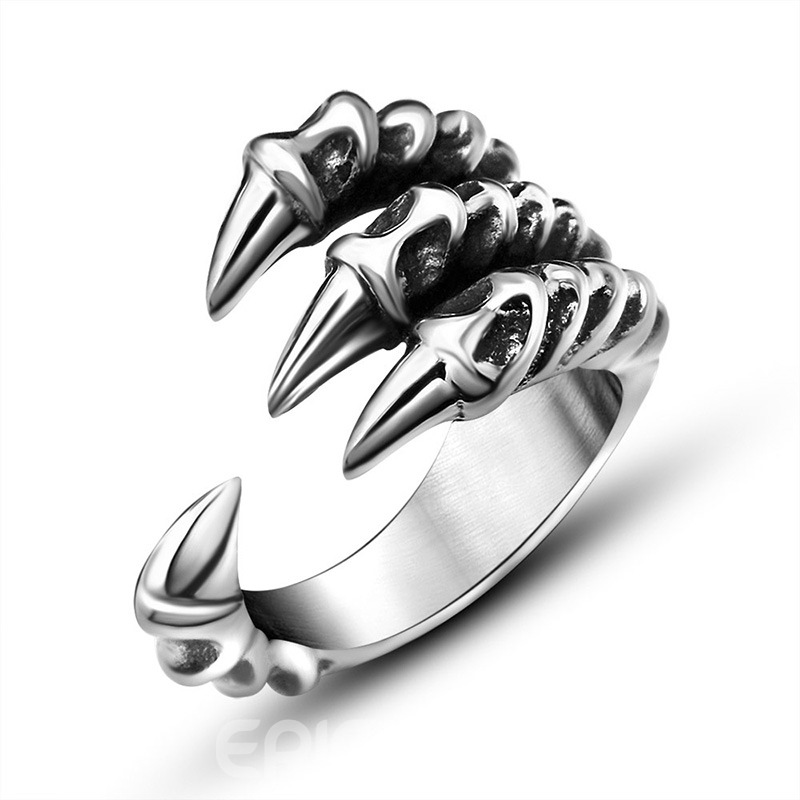 Ericdress Death Claws Men's Ring