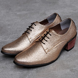 Ericdress Sequin Low-Cut Upper Lace-Up Men's Shoes