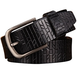Ericdress Design Leather Belt For Men