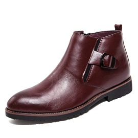 Ericdress Round Toe Side Zipper Men's Boots