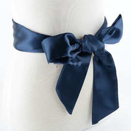 Ericdress Bowknot Ribbon Belt