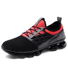 Ericdress Patchwork Lace-Up Men's Athletic Shoes